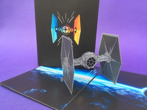 Space Craft pop up card