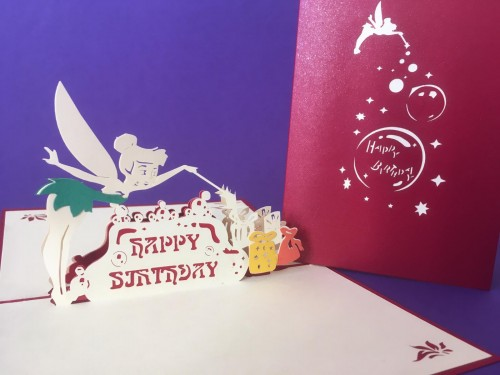 Tinkerbell (Birthday) pop up card